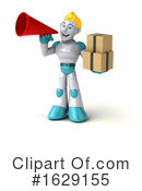 Robot Clipart #1629155 by Julos