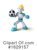 Robot Clipart #1629157 by Julos