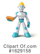 Robot Clipart #1629158 by Julos