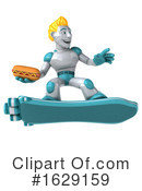 Robot Clipart #1629159 by Julos