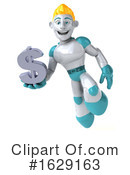 Robot Clipart #1629163 by Julos