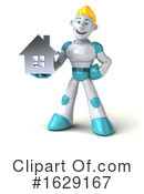 Robot Clipart #1629167 by Julos