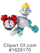 Robot Clipart #1629170 by Julos