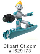 Robot Clipart #1629173 by Julos