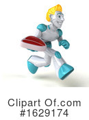 Robot Clipart #1629174 by Julos