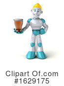 Robot Clipart #1629175 by Julos
