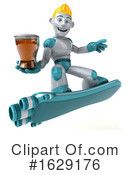 Robot Clipart #1629176 by Julos
