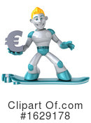 Robot Clipart #1629178 by Julos