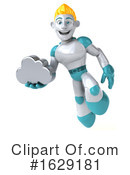 Robot Clipart #1629181 by Julos