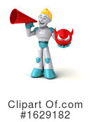 Robot Clipart #1629182 by Julos