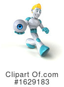 Robot Clipart #1629183 by Julos