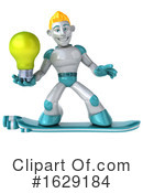 Robot Clipart #1629184 by Julos