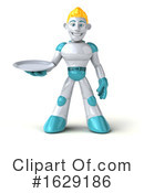 Robot Clipart #1629186 by Julos