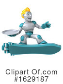 Robot Clipart #1629187 by Julos