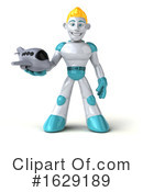 Robot Clipart #1629189 by Julos