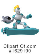 Robot Clipart #1629190 by Julos