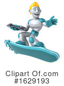 Robot Clipart #1629193 by Julos