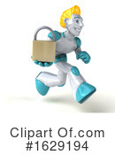 Robot Clipart #1629194 by Julos