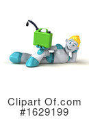 Robot Clipart #1629199 by Julos
