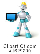Robot Clipart #1629200 by Julos