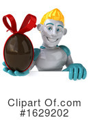 Robot Clipart #1629202 by Julos