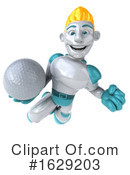 Robot Clipart #1629203 by Julos