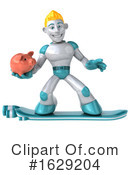 Robot Clipart #1629204 by Julos
