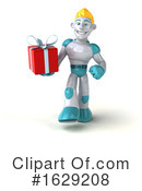 Robot Clipart #1629208 by Julos