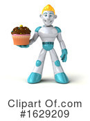 Robot Clipart #1629209 by Julos