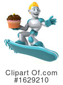 Robot Clipart #1629210 by Julos