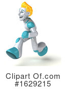 Robot Clipart #1629215 by Julos