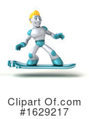 Robot Clipart #1629217 by Julos