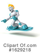 Robot Clipart #1629218 by Julos