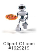 Robot Clipart #1629219 by Julos