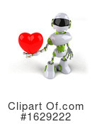 Robot Clipart #1629222 by Julos