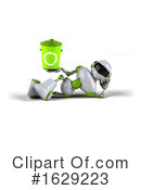 Robot Clipart #1629223 by Julos