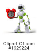Robot Clipart #1629224 by Julos