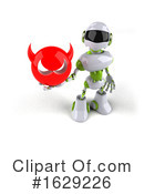 Robot Clipart #1629226 by Julos