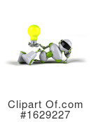 Robot Clipart #1629227 by Julos