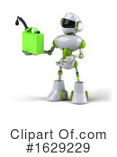 Robot Clipart #1629229 by Julos