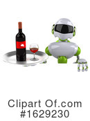 Robot Clipart #1629230 by Julos