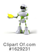 Robot Clipart #1629231 by Julos