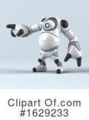 Robot Clipart #1629233 by Julos