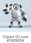 Robot Clipart #1629234 by Julos