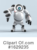 Robot Clipart #1629235 by Julos