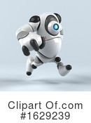 Robot Clipart #1629239 by Julos