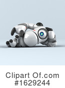 Robot Clipart #1629244 by Julos