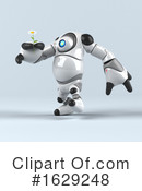 Robot Clipart #1629248 by Julos