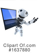 Robot Clipart #1637880 by Steve Young