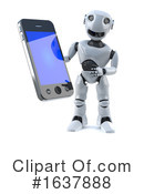 Robot Clipart #1637888 by Steve Young
